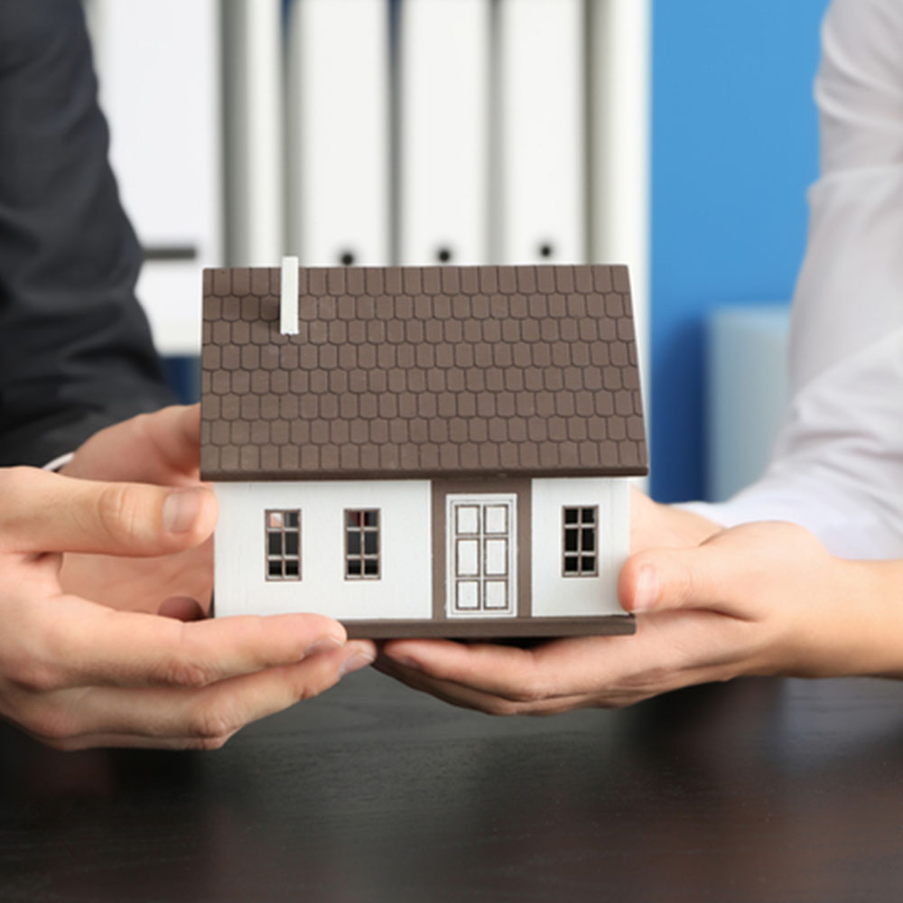 Home equity line of credit - image of home
