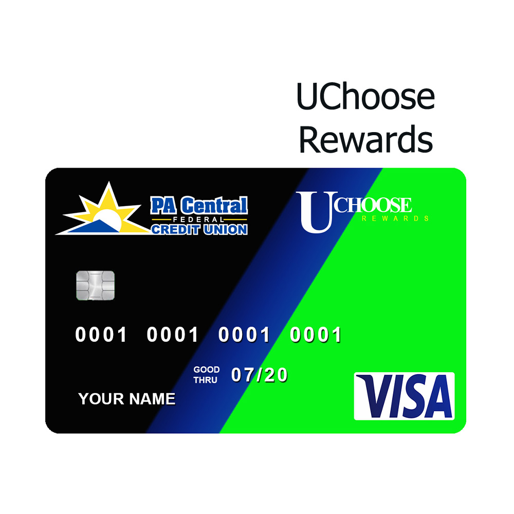 PA Central FCU UChoose Rewards Card