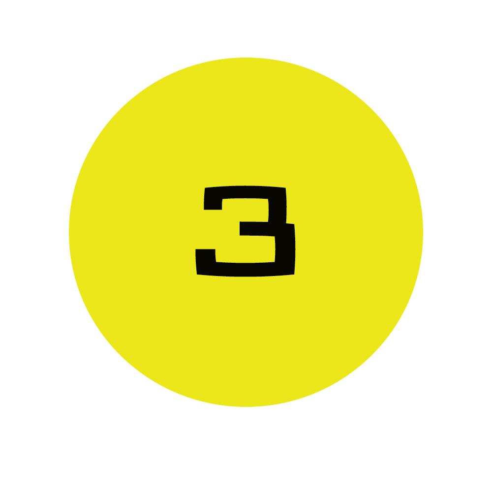 Number 3 bullet