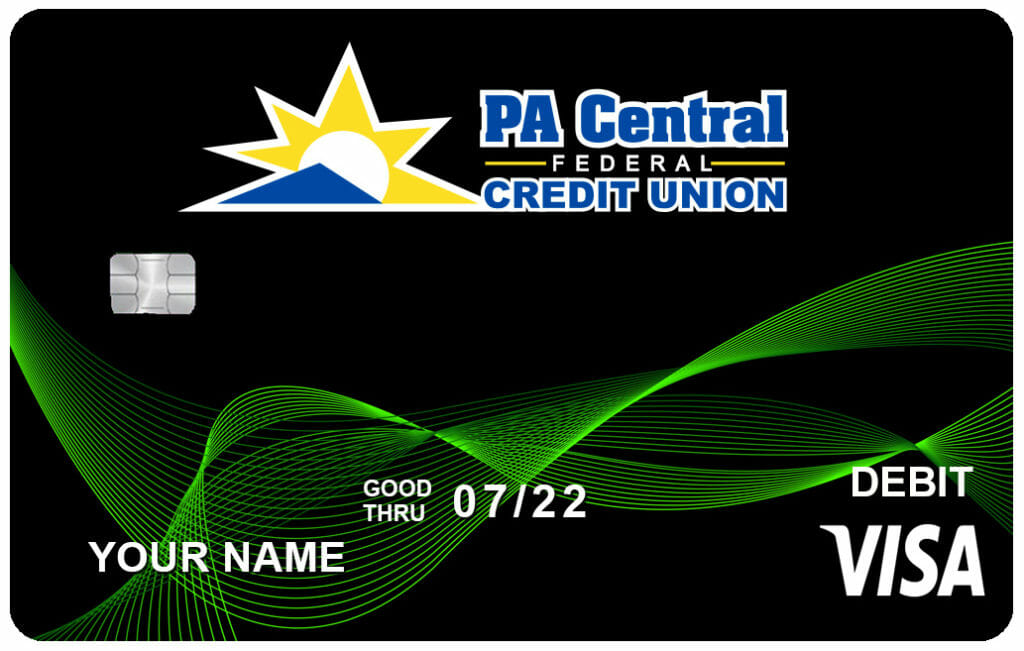 PA Central Debit Card Example
