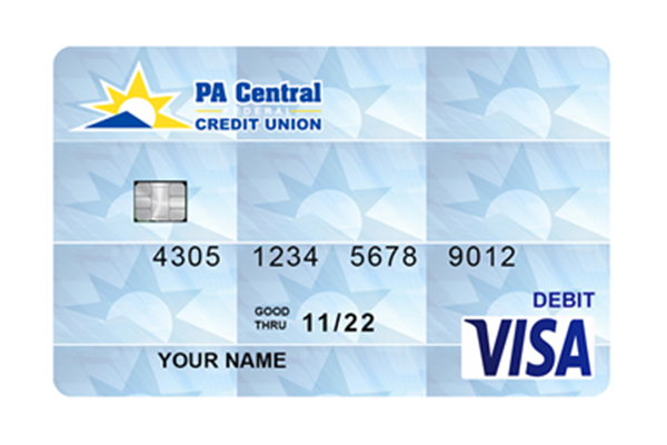 Image of Debit Card design