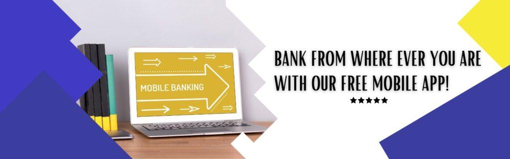 Mobile Banking App banner