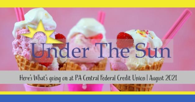 Under The Sun _ Aug 2021 newsletter header image